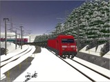 雪景色完成その8 DBBRe101-4