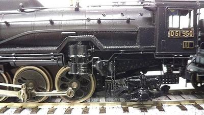 D51-950カツミHOゲージ台車2