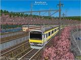 進撃の通勤電車38  JR209系南武線3.