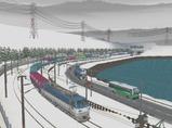 津軽海峡線コンテナ貨物10