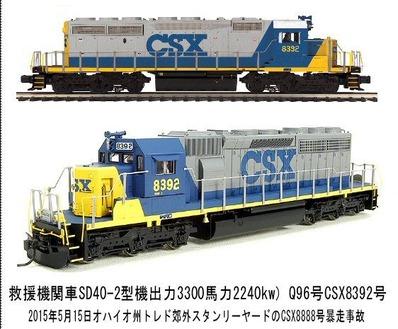 アンストップバルSD40-2CSX8392-1