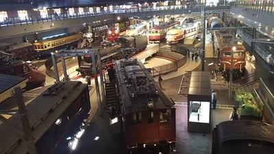 鉄道博物館1階車両コーナー3