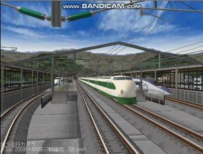 越河レイアウト東北新幹線200系1