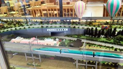 SA那須高原上り鉄道ジオラマ3