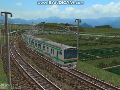 越河レイアウト電車シリーズ75-E231系近郊電車7