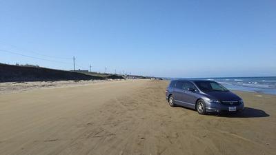 能登半島2千里浜なぎさドライブウェイ2
