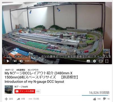 鉄道模型部屋紹介2
