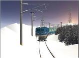 雪景色完成その12 EF58-138-1