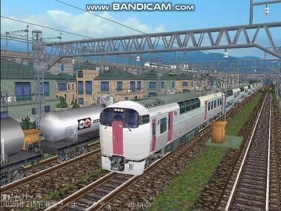 越河レイアウト特急シリーズ20-215系湘南ライナー1