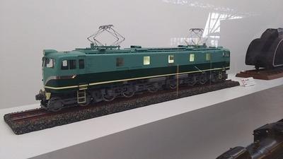 鉄博61-EF58機関車試作機