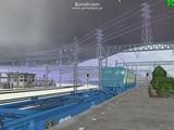北の貨物駅通過中Ef65重連5
