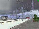 北の貨物駅通過中EF81-95-3