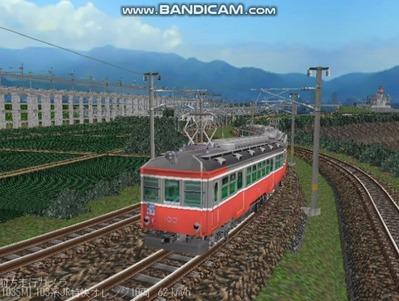 越河レイアウト103シリーズ112-箱根登山鉄道3