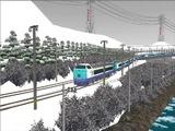 雪景色と貨物交換駅485系2.jpg
