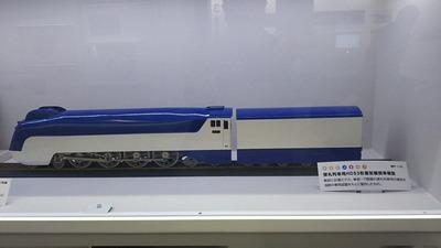 鉄博7-弾丸列車HD53型蒸気機関車1