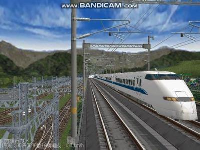 越河レイアウト東北新幹線300系のぞみ6