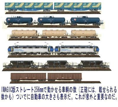 VRM3版線路配置車両編成1