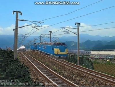 越河レイアウト電車シリーズ113-クモヤ192検測試験車4