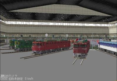 VRM3版車両博物館屋根有り3