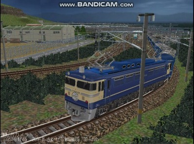 越河レイアウト夜汽車シリーズ13-EF65-500あさかぜ6