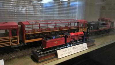 ジオラマ京都嵯峨野トロッコ列車模型2