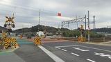東北本線新白石街道中島踏切X2方向2