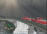 待避線レイアウト追加ローカル線DD51-3