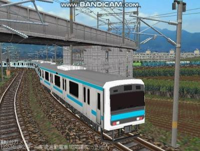 越河レイアウト電車シリーズ79-209系京浜東北線5