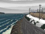 山奥停車場レイアウト雪景色2