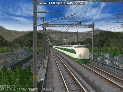 越河レイアウト東北新幹線200系2