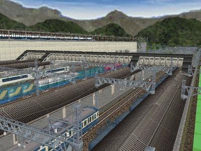 新幹線在来線連絡橋2
