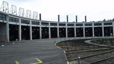 51-転車台と扇形車庫2