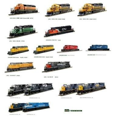 アメリカンディーゼル機関車SD40-SD80KATO1-60
