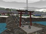 仮想津軽海峡線VRM3神社3