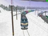 北の貨物駅通過中EF66-32-6