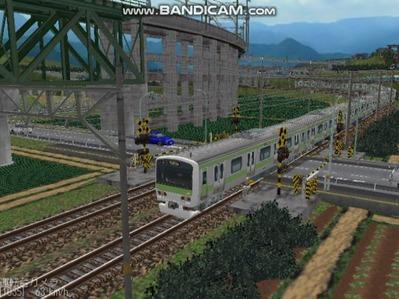 越河レイアウト電車シリーズ74-E231系山手線7