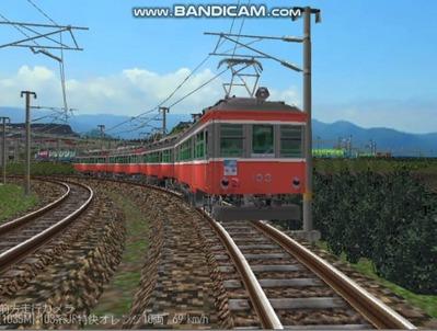 越河レイアウト103シリーズ112-箱根登山鉄道8