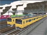 進撃の通勤電車9 201系4.