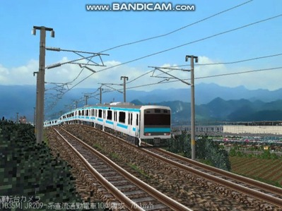 越河レイアウト電車シリーズ79-209系京浜東北線4