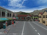 東北本線越河駅周辺情景5