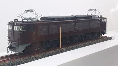 鉄博26−EF63電気機関車茶釜