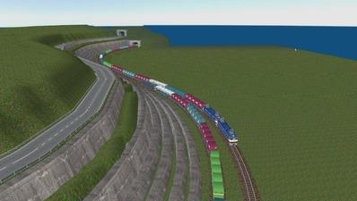 仮想日本海縦幹線信越、羽越本線から4