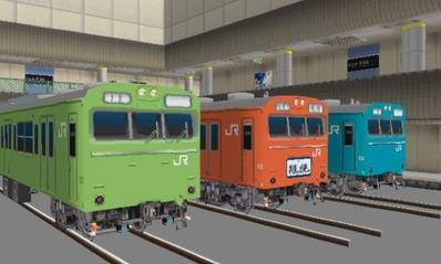 VRM3版車両博物館103系ブースUP画像9