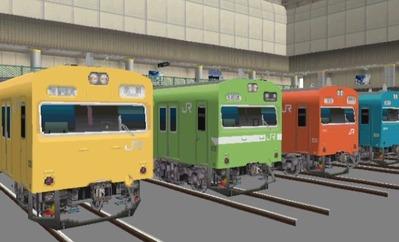 VRM3版車両博物館103系ブースUP画像7