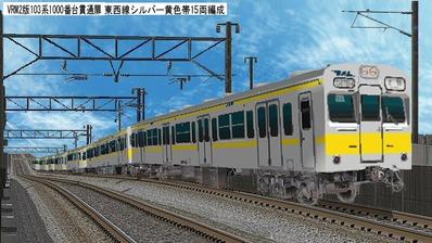 VRM3版103系背景画像1000番台3