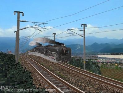 越河レイアウト特急シリーズ番外C62重連セキ3000-1