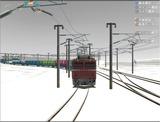 雪景色と貨物交換駅レイアウト65.jpg