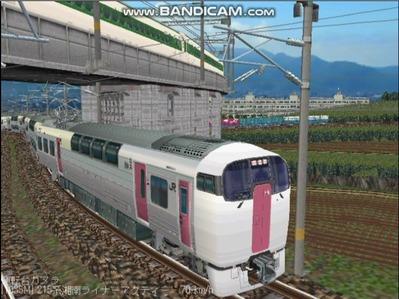 越河レイアウト特急シリーズ20-215系湘南ライナー3