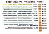 新幹線フル編成配置表車両基地2