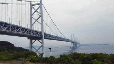 瀬戸自動車道北備讃瀬戸大橋1538m-1